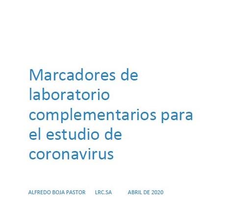 Marcadors de laboratori complementaris a l'LRC  per a l'estudi de COVID19